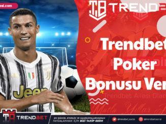 Trendbet Poker Bonusu Veren