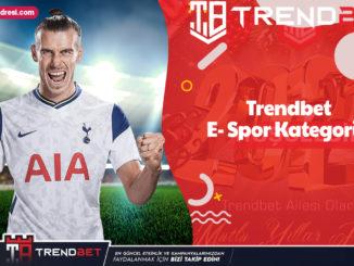 trendbet E- Spor Kategorisi